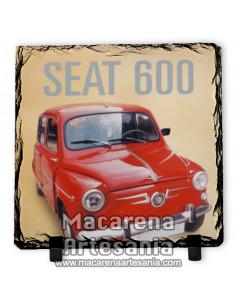 Pizarra cuadrada del Seat 600, solo en venta en nuestra tienda online.